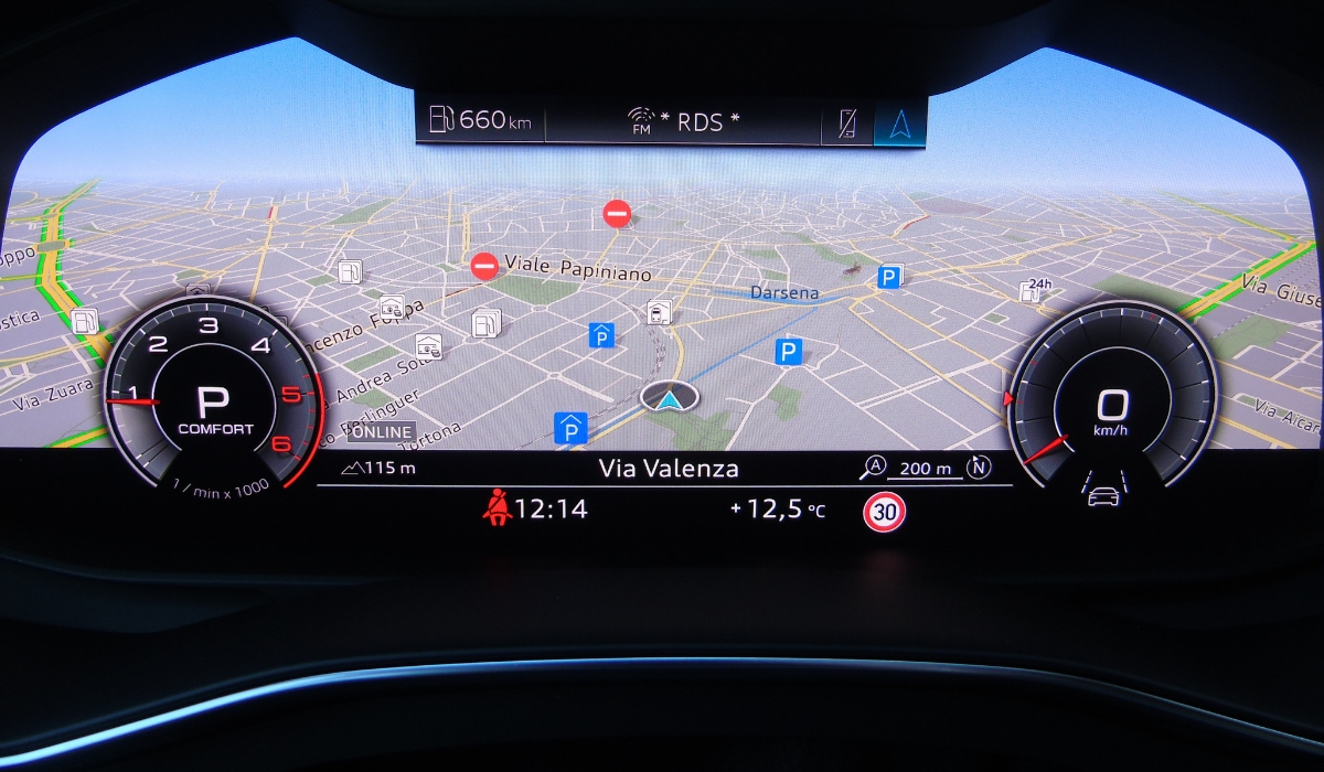 Nuova Audi A6 Avant Virtual Cockpit
