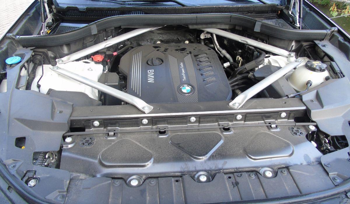Nuova BMW X5 2020  motore