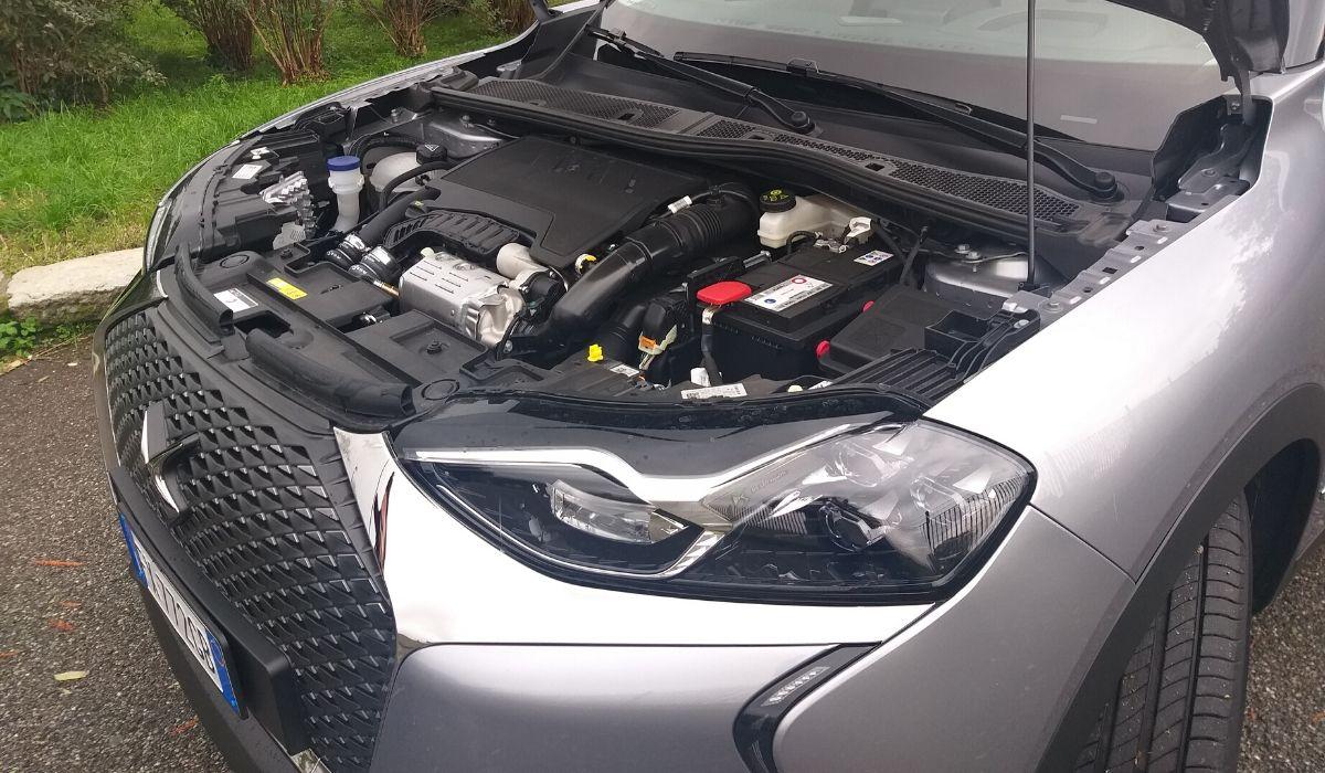 Nuova DS 3 Crossback 2020 motore