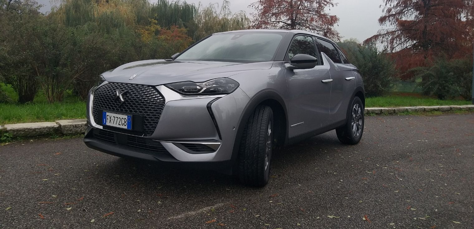 Nuova DS 3 Crossback 2020 test drive