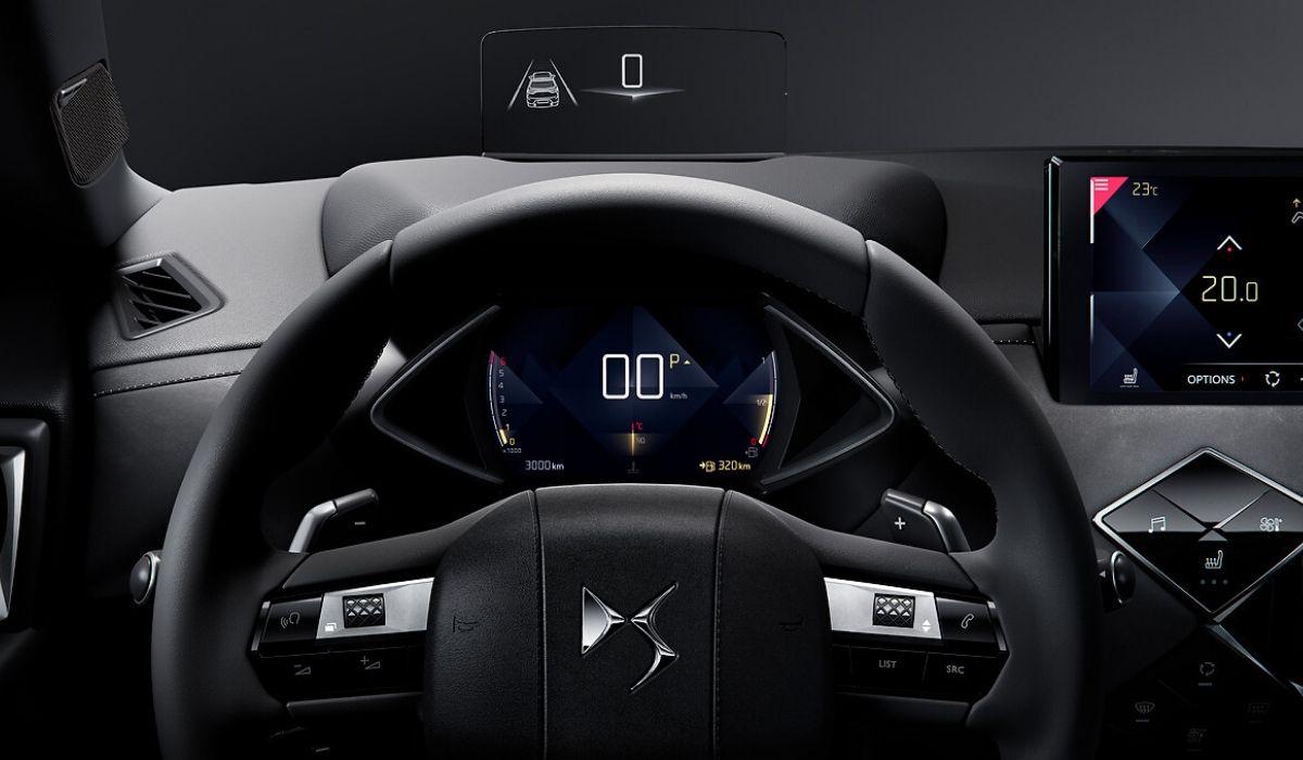 Nuova DS 3 Crossback 2020 volante