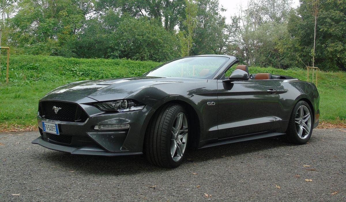 Nuova Ford Mustang cabrio 2020