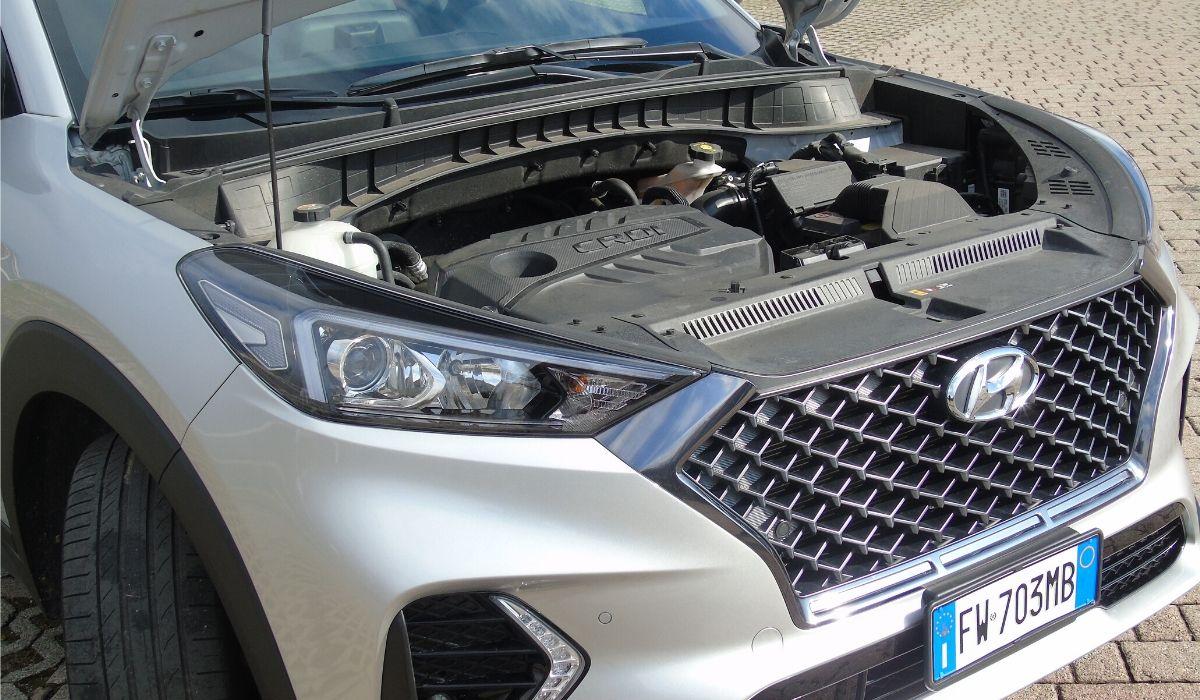 Hyundai Tucson motore