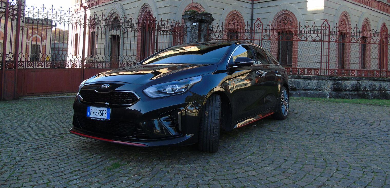 Nuova Kia ProCeed 2020 test drive