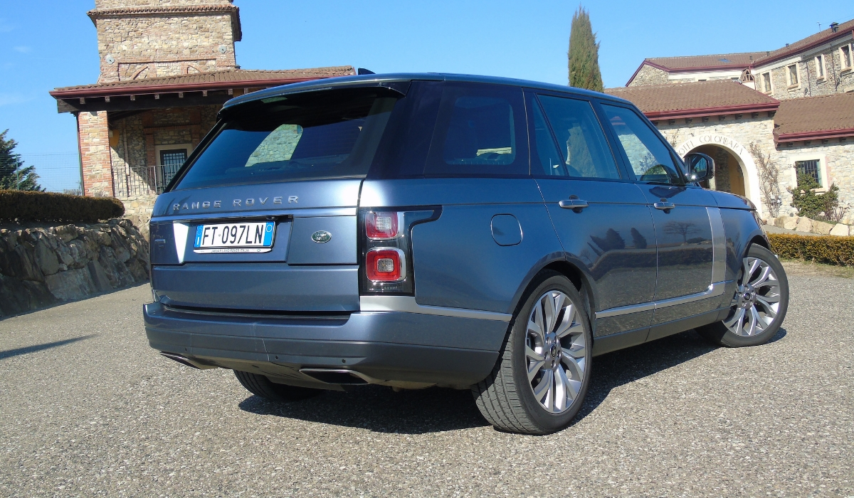 Land Rover Range Rover PHEV prova