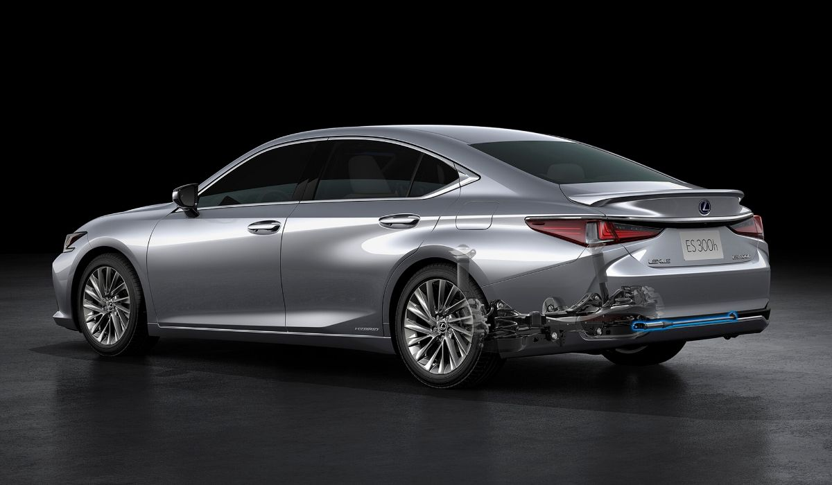 Nuova Lexus ES 2020 auto ibrida
