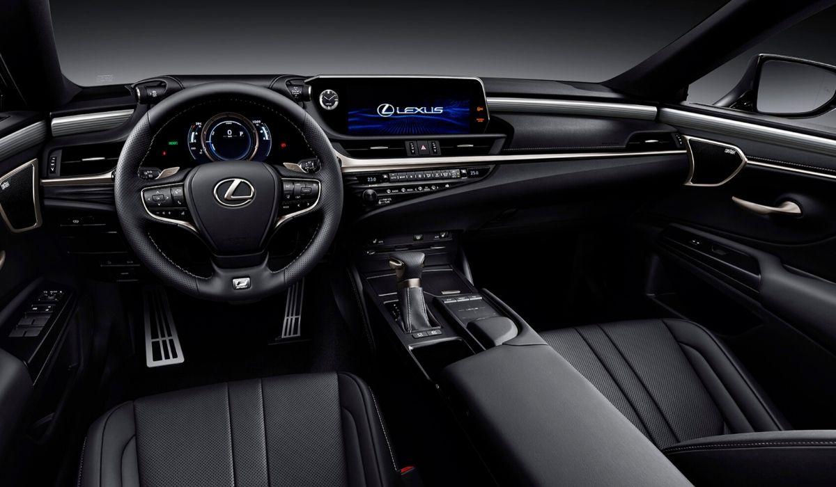 Nuova Lexus ES 2020 interni