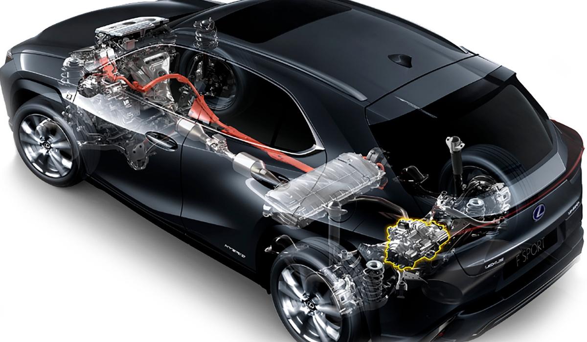 Nuova Lexus UX 2019 sistema ibrido