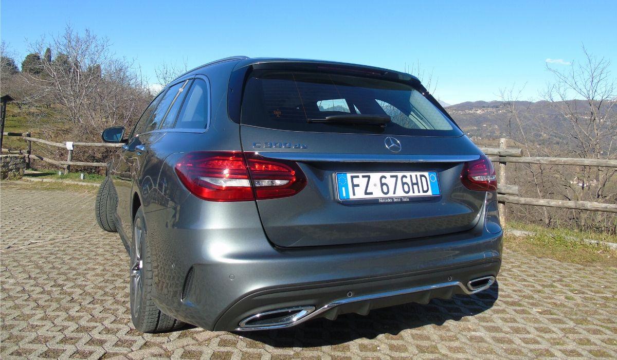 Mercedes Classe C plug-in hybrid station wagon