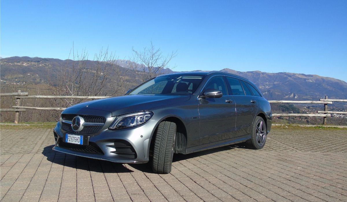 Mercedes Classe C station wagon ibrida diesel plug-in