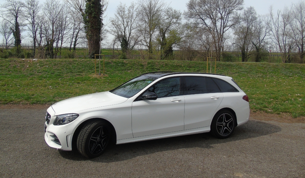 Nuova Mercedes Classe C station wagon 2019