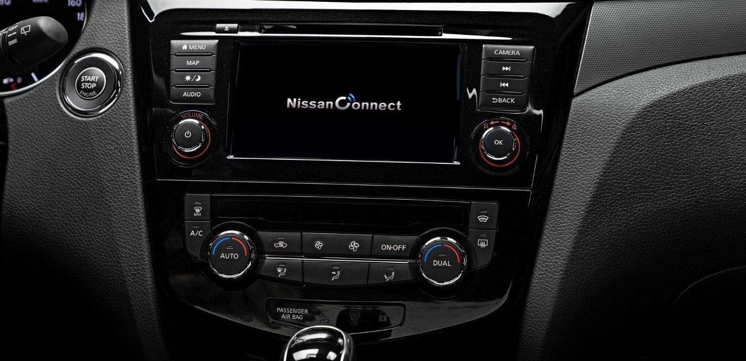 Nuova Nissan Qashqai sistema multimediale