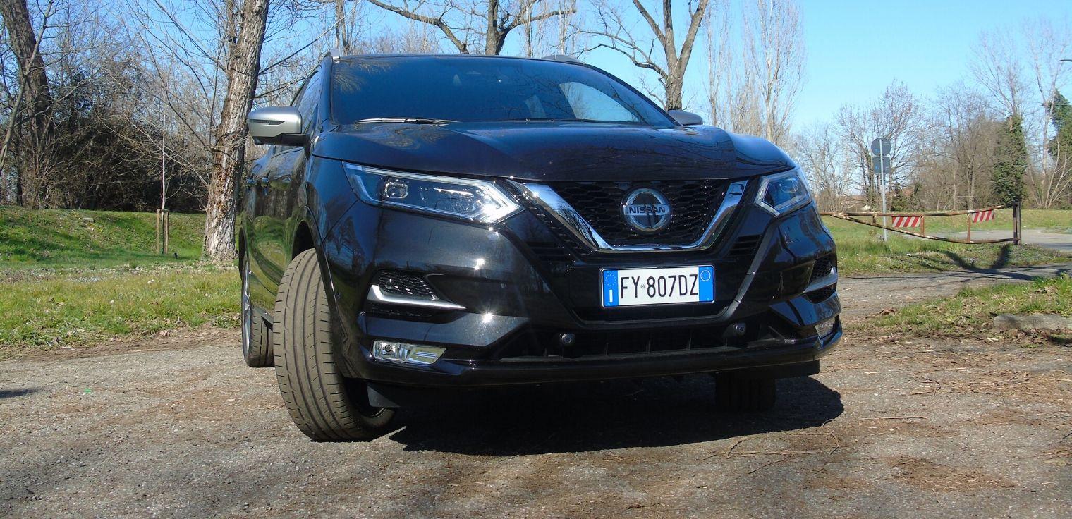 Nuova Nissan Qashqai statica