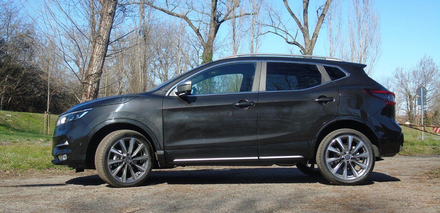 Nuova Nissan Qashqai test drive