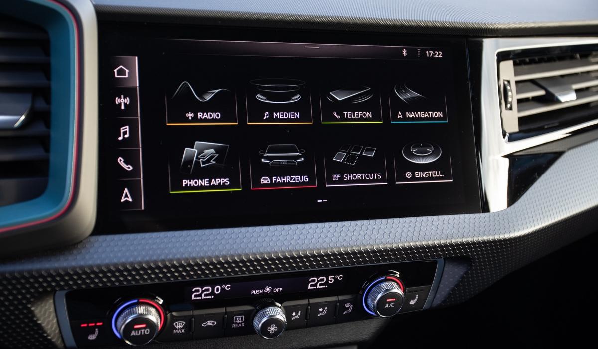 Nuova Audi A1 Sportback 2019 sistema multimediale