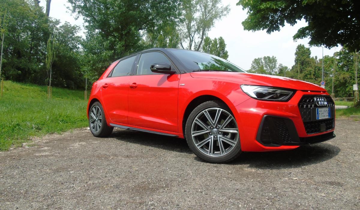 Nuova Audi A1 Sportback 30 TFSI S tronic 2019 test drive