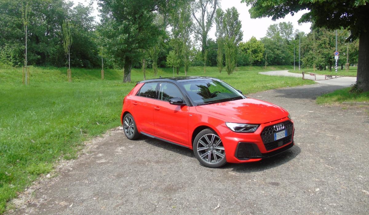 Test drive nuova Audi A1 Sportback 30 TFSI S tronic