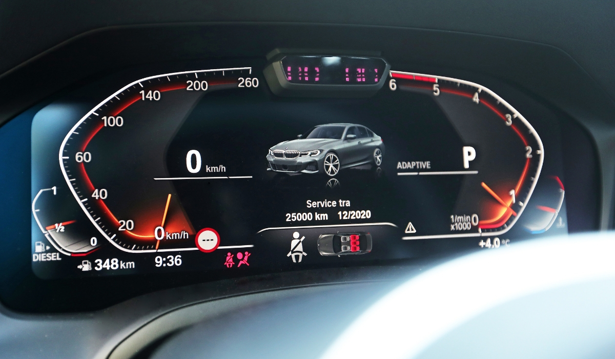 Quadro strumenti digitale nuova BMW Serie 3