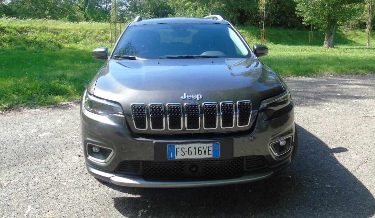 Nuova Jeep Cherokee 2019 frontale