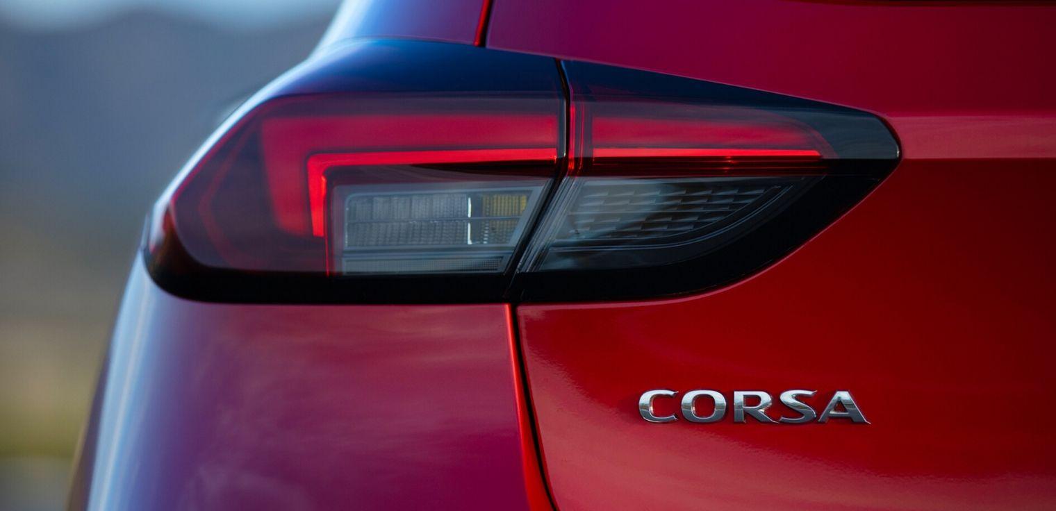 Nuova Opel Corsa 2020 gruppi ottici posteriori