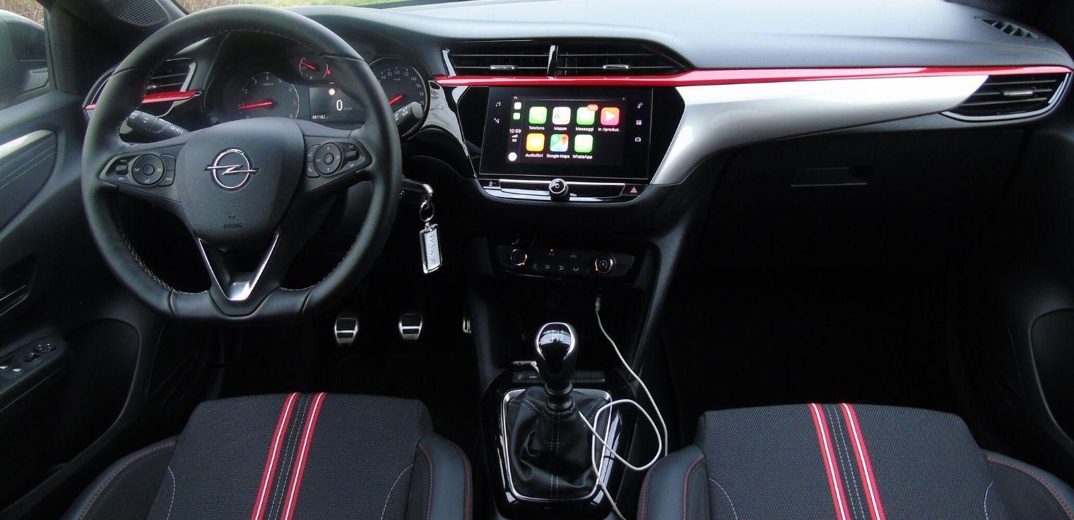 Nuova Opel Corsa 2020 interni