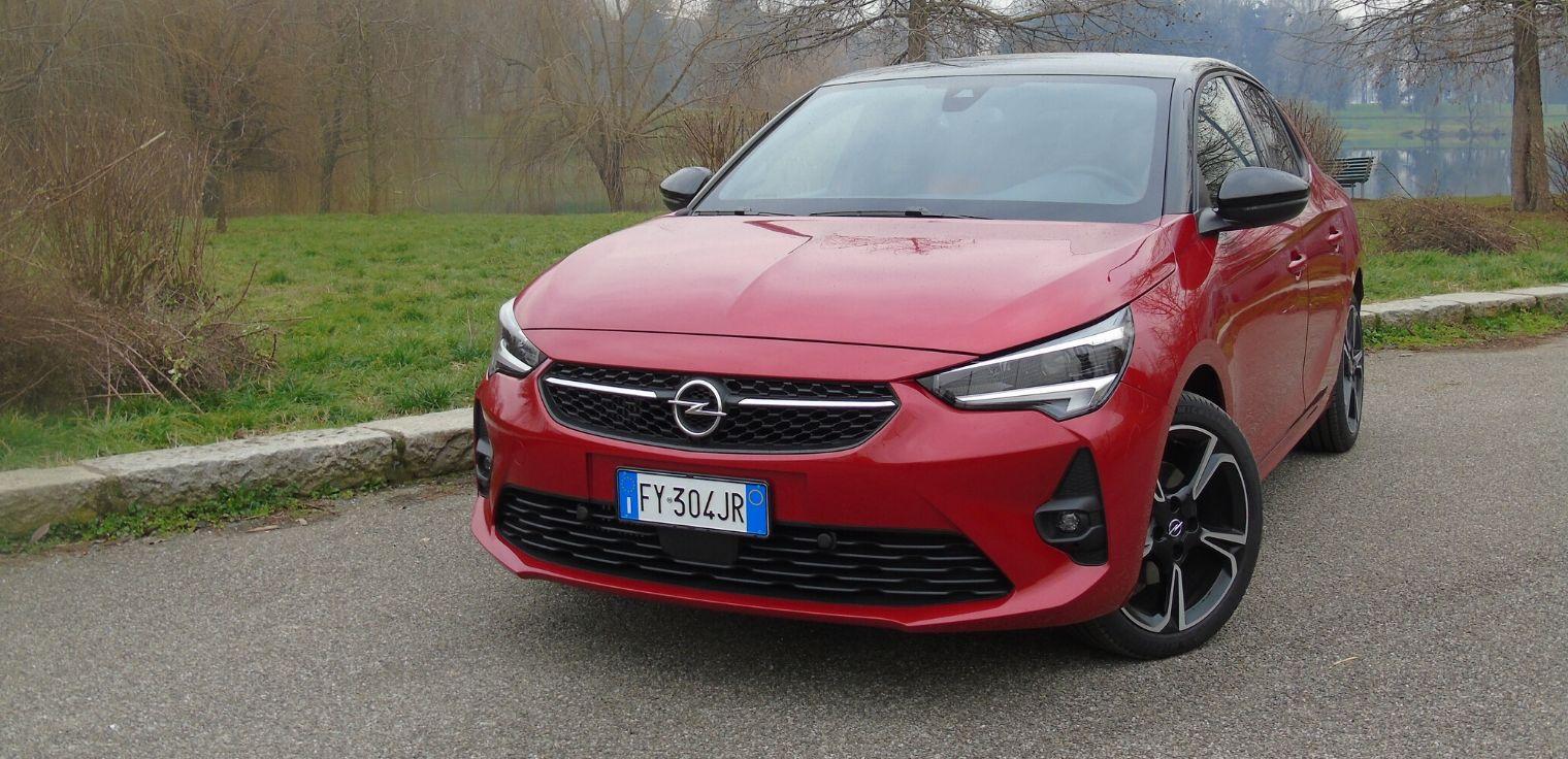 Nuova Opel Corsa 2020 rossa