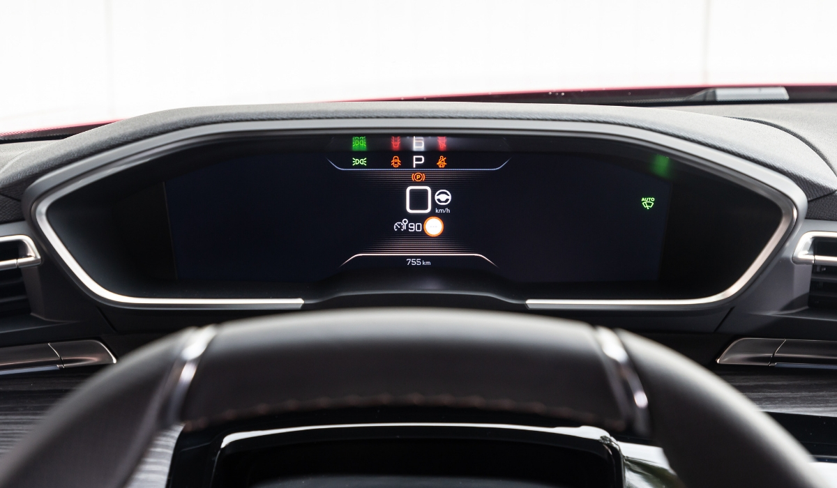 Nuova Peugeot 508 i-Cockpit