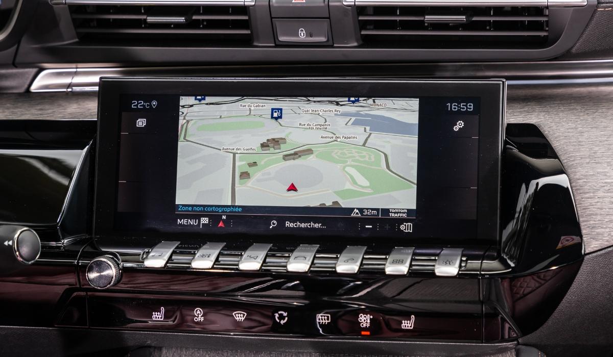 Nuova Peugeot 508 navigatore