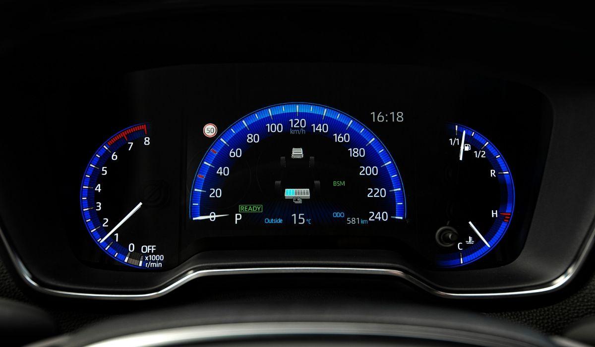 Nuova Toyota Corolla 2020 quadro strumenti