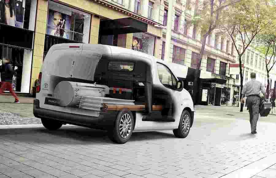 Portata di Toyota Proace City van