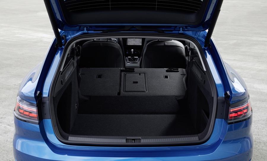 Bagagliaio di Volkswagen Arteon 2021 Shooting Brake