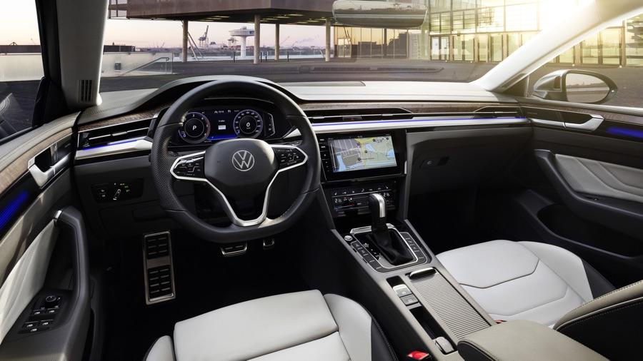 Infotainment di Volkswagen Arteon 2021