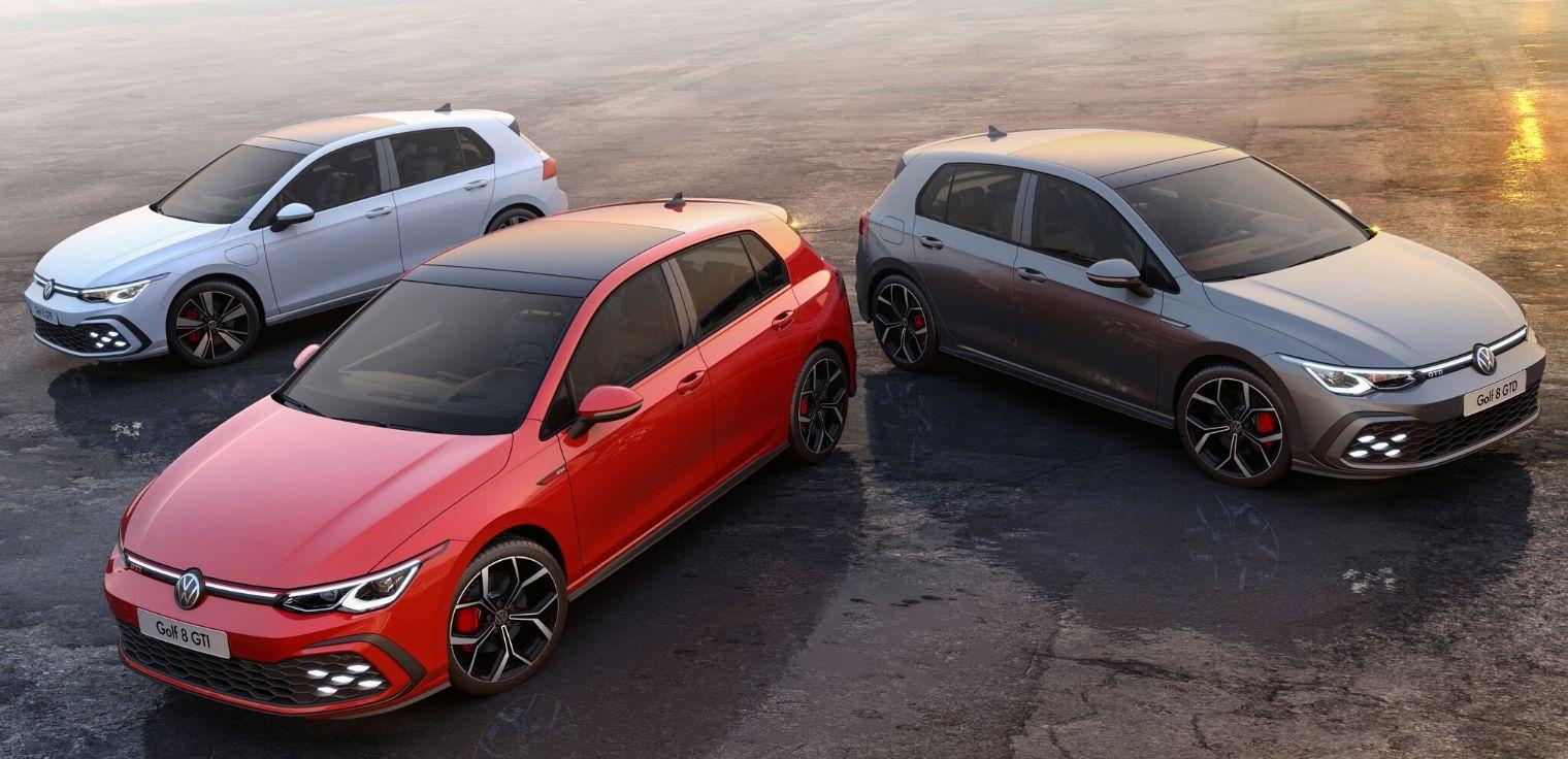 Nuova Volkswagen Golf GTI, GTD e GTE 2020