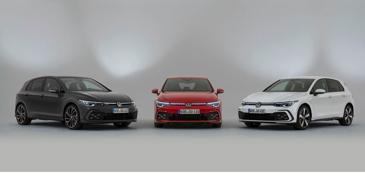 Volkswagen Golf GTI, GTD e GTE 2020