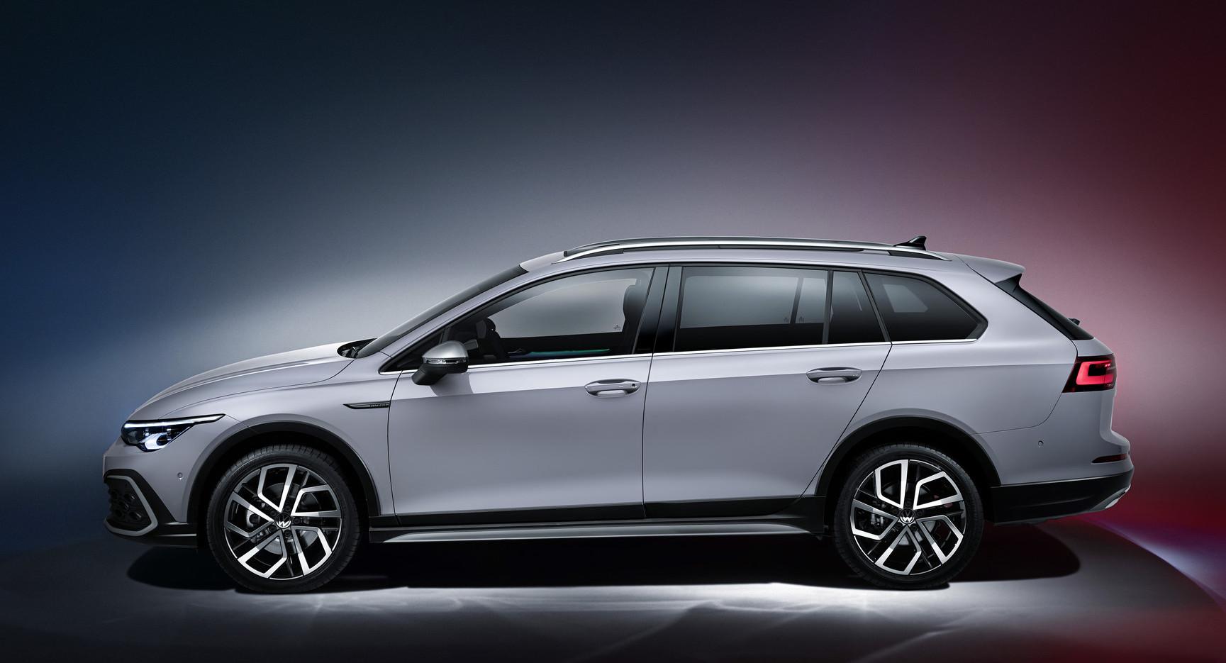 Altezza da terra di nuova Volkswagen Golf Alltrack