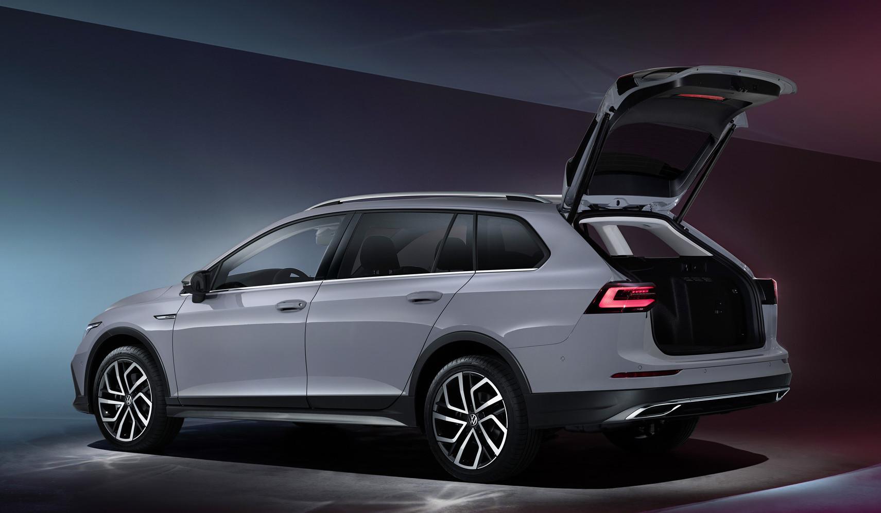 Bagagliaio di nuova Volkswagen Golf Alltrack