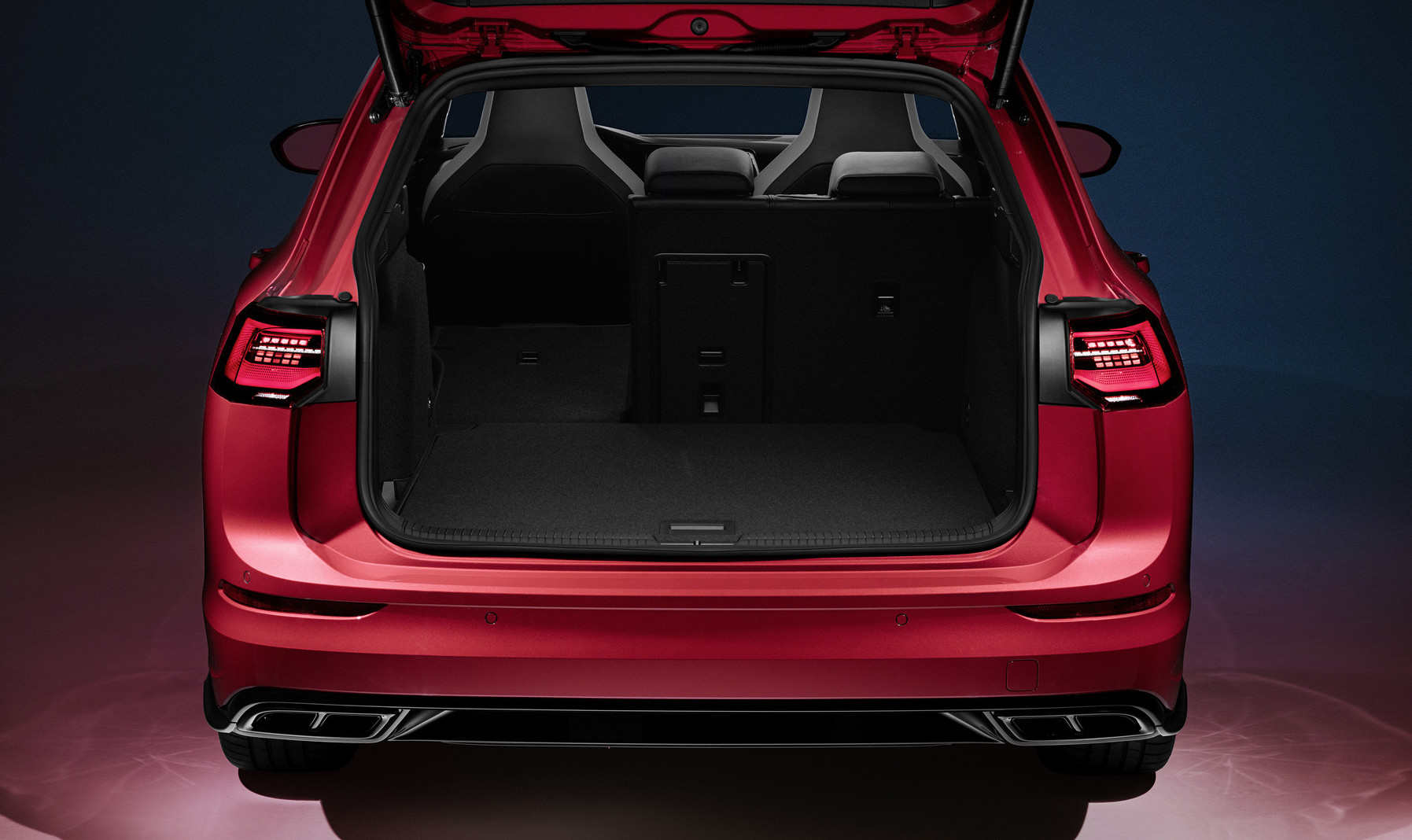 Capacità di carico di nuova Volkswagen Golf Variant
