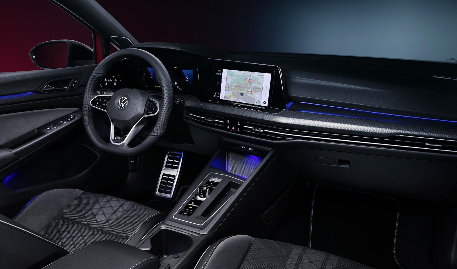 Interni di nuova Volkswagen Golf Variant