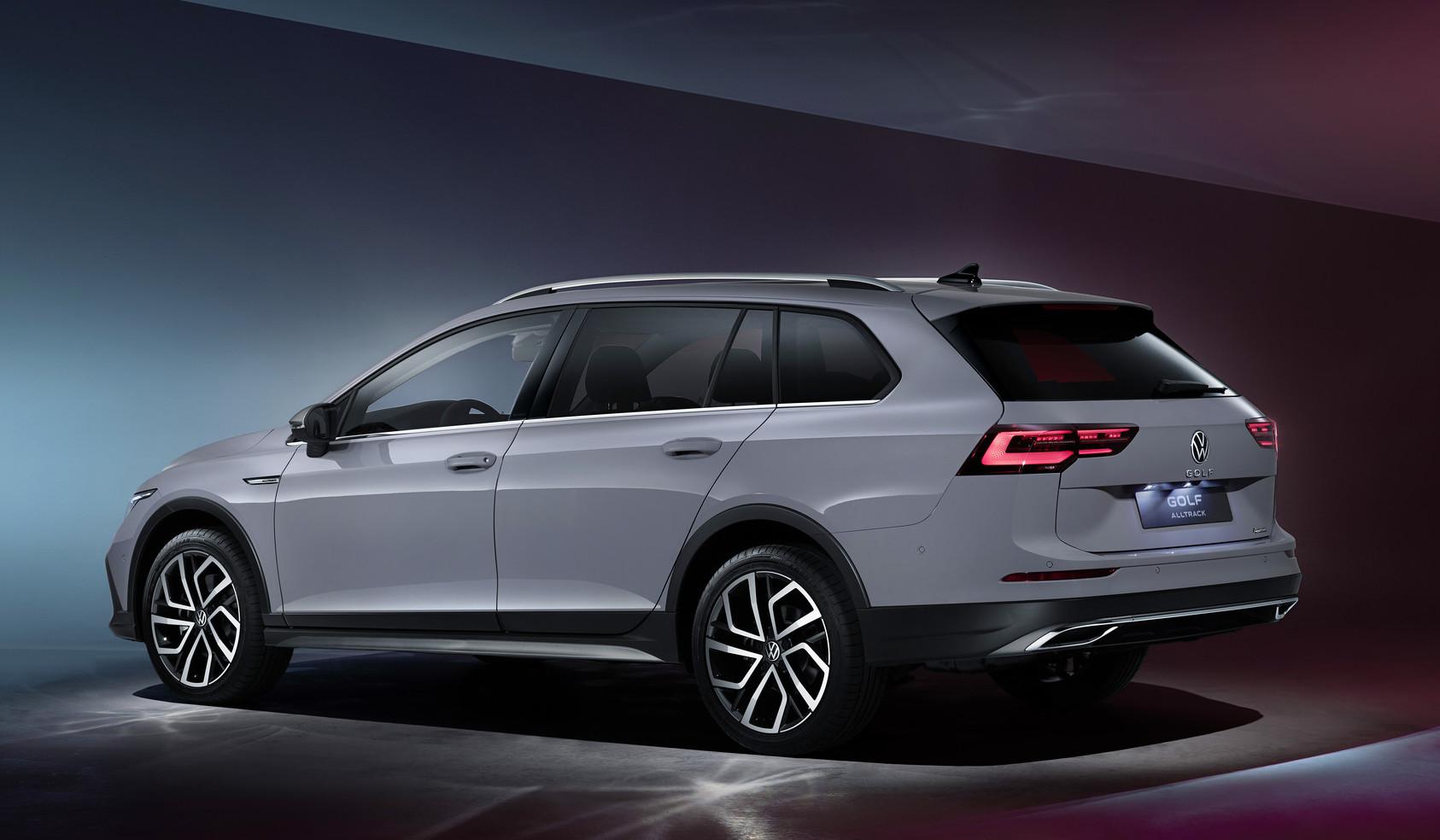 Nuova Volkswagen Golf Alltrack 4Motion
