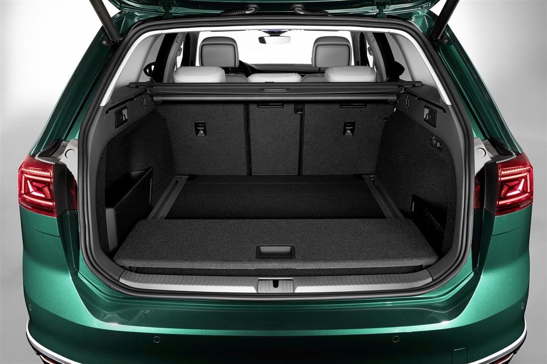 Bagagliaio di Volkswagen Passat restyling 2019