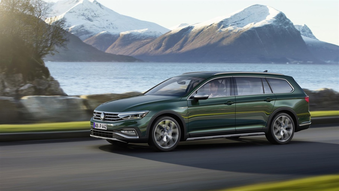 Volkswagen Passat restyling 2019 Alltrack