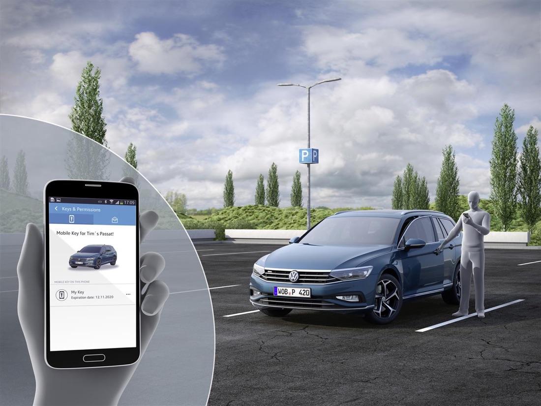 Volkswagen Passat restyling 2019, servizi Volkswagen We