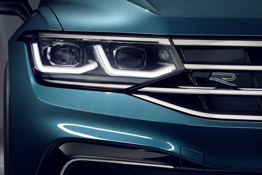 Fari Matrix led di Tiguan 2021