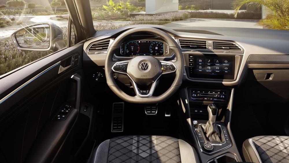 Infotainment di Volkswagen Tiguan 2021