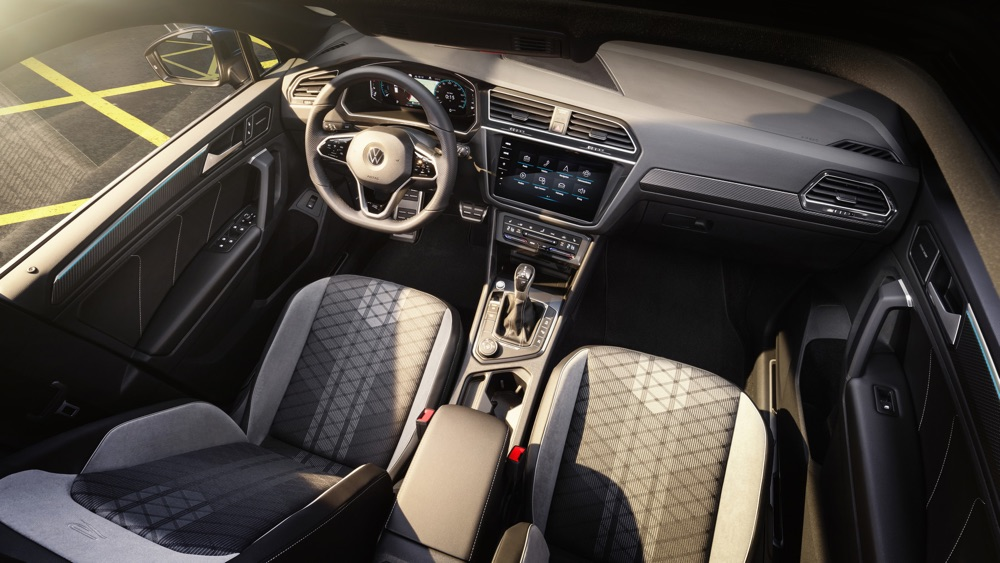 Interni di Volkswagen TIguan restyling