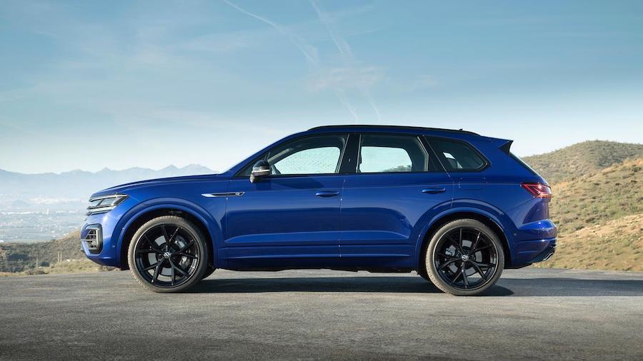 Trailer Assist di Volkswagen Touareg R ibrida