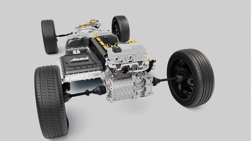 Motori di Volvo XC40 Recharge elettrica