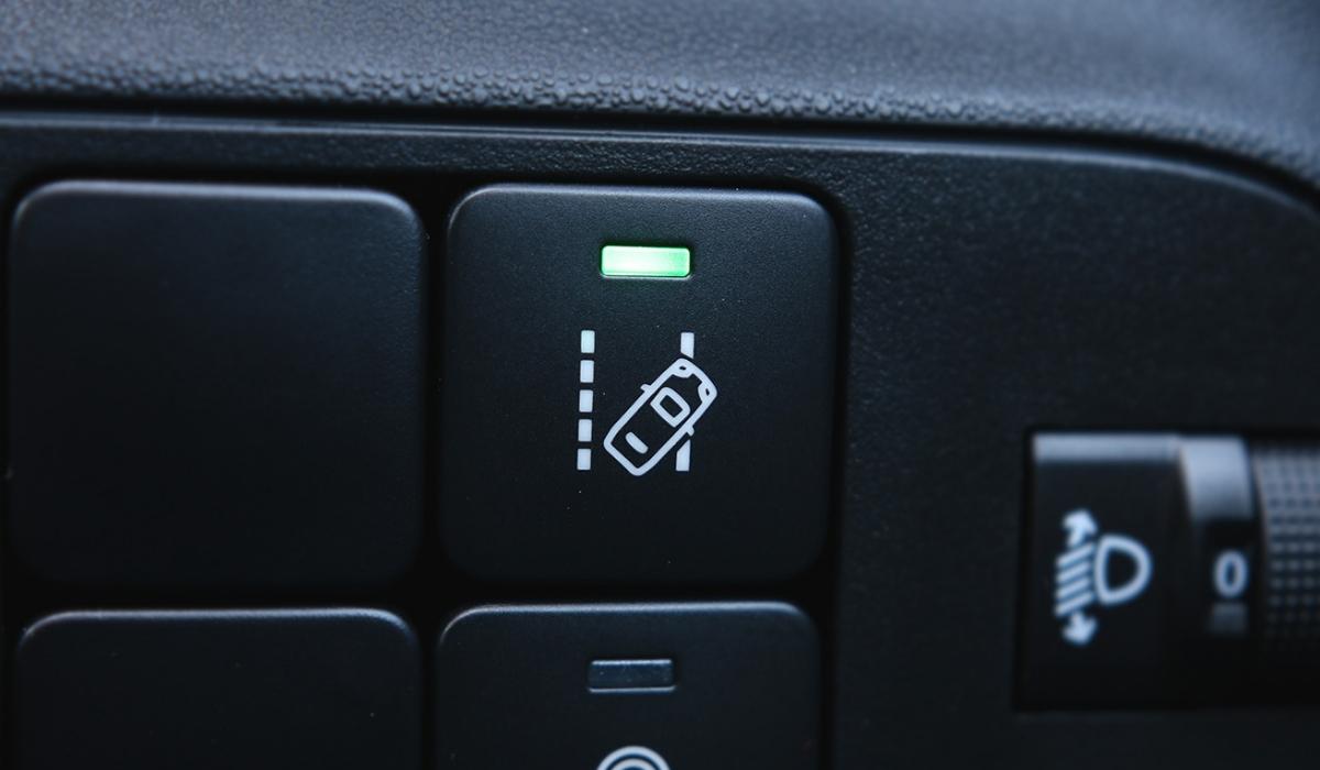 Lane Assist pulsante attivazione