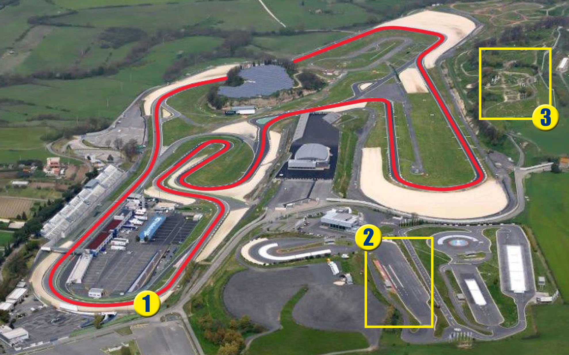 Mappa circuiti Vallelunga Fleet Motor Day 2020