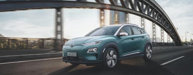 Nuova Hyundai Kona Electric dinamica